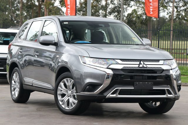 New Mitsubishi Outlander ZL MY21 ES 2WD Hamilton, 2020 Mitsubishi Outlander ZL MY21 ES 2WD Titanium 5 Speed Manual Wagon