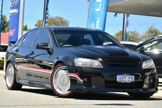 2007 Holden Commodore VE SS Black 6 Speed Sports Automatic Sedan