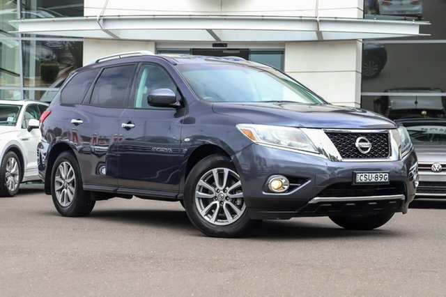 Used Nissan Pathfinder R52 MY14 ST X-tronic 2WD Sutherland, 2013 Nissan Pathfinder R52 MY14 ST X-tronic 2WD Blue 1 Speed Constant Variable Wagon