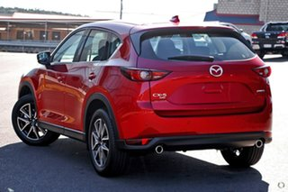 2020 Mazda CX-5 KF4WLA Akera SKYACTIV-Drive i-ACTIV AWD Red 6 Speed Sports Automatic Wagon