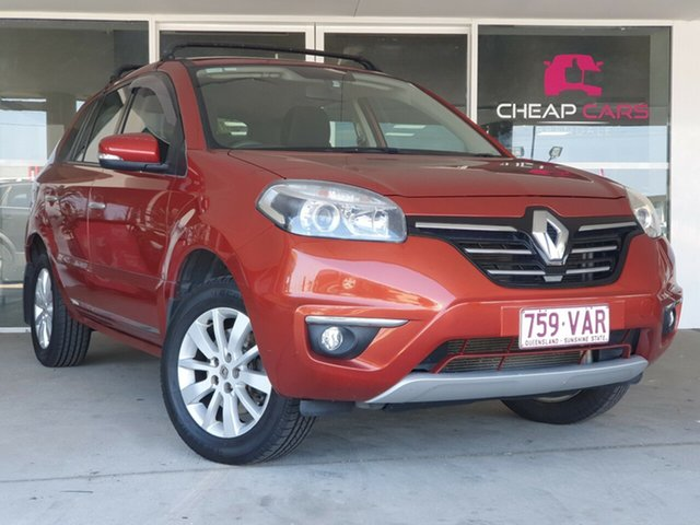 Used Renault Koleos H45 Phase II Expression Brendale, 2013 Renault Koleos H45 Phase II Expression Orange 6 Speed Manual Wagon