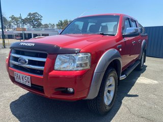 2007 Ford Ranger PJ XLT Crew Cab Red 5 Speed Automatic Double Cab Pick Up