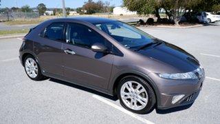2010 Honda Civic 8th Gen MY09 SI Grey 5 Speed Automatic Hatchback.