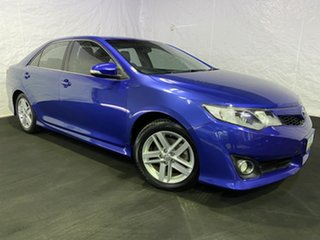 2012 Toyota Camry ASV50R Atara SX Blue 6 Speed Sports Automatic Sedan.
