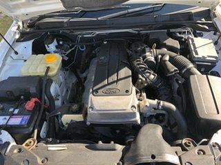 2009 Ford Falcon FG White 5 Speed Auto Seq Sportshift Utility
