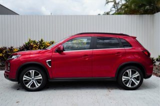2020 Mitsubishi ASX XD MY21 Exceed 2WD Brilliant Red 1 Speed Constant Variable Wagon