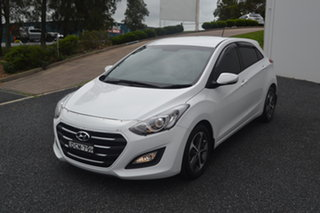 2015 Hyundai i30 GD4 Series II MY16 Active X White 6 Speed Sports Automatic Hatchback.