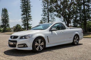 2014 Holden Ute VF MY14 SS Ute White 6 Speed Sports Automatic Utility.
