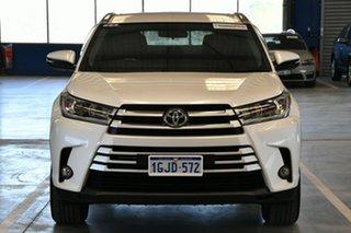 2017 Toyota Kluger GSU55R GXL (4x4) Crystal Pearl 6 Speed Automatic Wagon