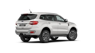 2020 Ford Everest UA II 2021.25MY Titanium Alabaster White 10 Speed Sports Automatic SUV