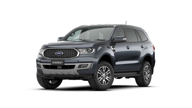 New Ford Everest UA II 2021.25MY Trend Hobart, 2021 Ford Everest UA II 2021.25MY Trend Meteor Grey 6 Speed Sports Automatic SUV