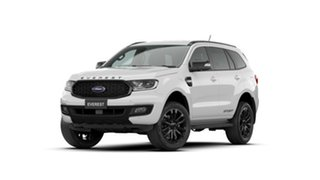 2020 Ford Everest UA II 2021.25MY Sport Arctic White 10 Speed Sports Automatic SUV.