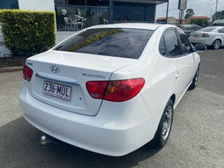 2009 Hyundai Elantra HD SX White 4 Speed Automatic Sedan