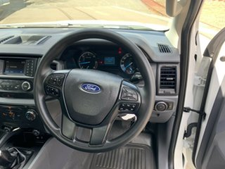 2018 Ford Ranger PX MkII 2018.00MY XL White 6 Speed Manual Cab Chassis