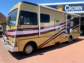 2006 Outback Isuzu Flinders Gold Motor Home.