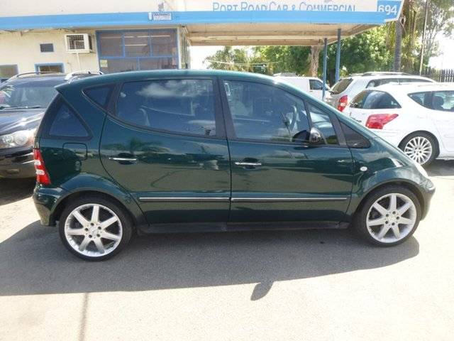 Used Mercedes-Benz A-Class W168 A190 Elegance Beverley, 2001 Mercedes-Benz A-Class W168 A190 Elegance Green Manual Auto-Clutch Hatchback
