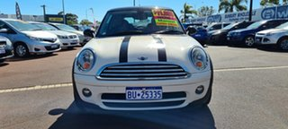 2009 Mini Hatch R56 Cooper D White 6 Speed Manual Hatchback.
