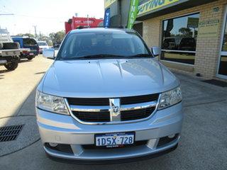 2011 Dodge Journey JC SXT Silver 6 Speed Automatic Wagon.
