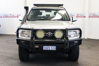 2008 Toyota Landcruiser VDJ200R GXL (4x4) Silver Pearl 6 Speed Automatic Wagon.
