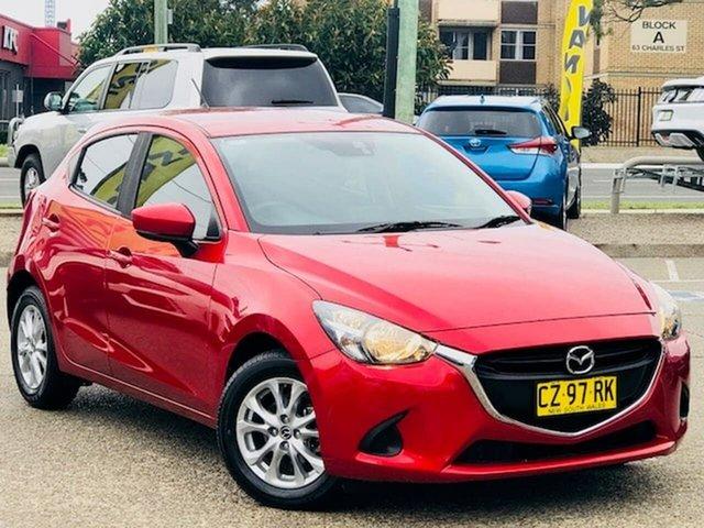 Used Mazda 2 DJ2HAA Maxx SKYACTIV-Drive Liverpool, 2017 Mazda 2 DJ2HAA Maxx SKYACTIV-Drive Red 6 Speed Sports Automatic Hatchback
