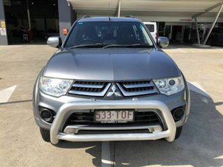 2013 Mitsubishi Challenger PC (KH) MY14 Grey 5 Speed Sports Automatic Wagon.
