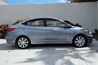 2018 Hyundai Accent RB6 MY18 Sport Grey 6 Speed Sports Automatic Sedan.