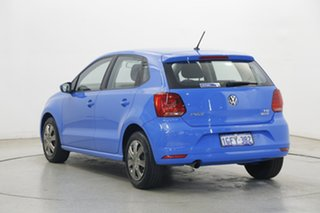 2017 Volkswagen Polo 6R MY17 66TSI DSG Trendline Blue 7 Speed Sports Automatic Dual Clutch Hatchback