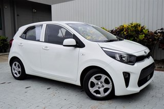 2018 Kia Picanto JA MY18 S White 4 Speed Automatic Hatchback.