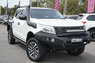 2017 Nissan Navara D23 S2 ST-X White 6 Speed Manual Utility.