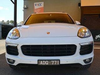 2015 Porsche Cayenne 92A MY15 S Tiptronic Diesel White 8 Speed Sports Automatic Wagon