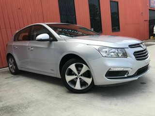 2016 Holden Cruze JH Series II MY16 Z-Series Silver 5 Speed Manual Hatchback.