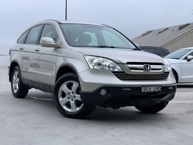 Used Honda CR-V RE MY2007 Sport 4WD Liverpool, 2007 Honda CR-V RE MY2007 Sport 4WD Gold 5 Speed Automatic Wagon