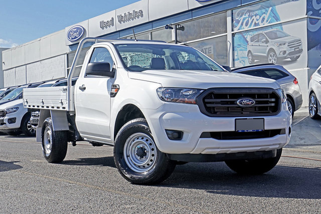Used Ford Ranger PX MkIII 2020.25MY XL Springwood, 2020 Ford Ranger PX MkIII 2020.25MY XL White 6 Speed Sports Automatic Single Cab Chassis