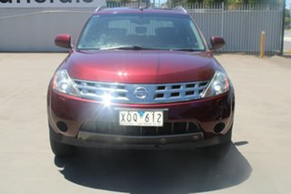 2009 Nissan Murano Z51 TI Maroon 6 Speed Constant Variable Wagon.