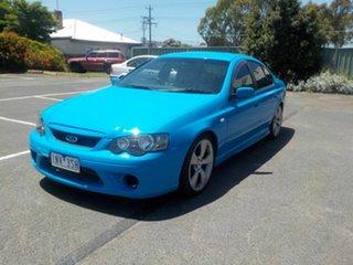 2006 Ford Falcon BF XR6T Blue 6 Speed Auto Seq Sportshift Sedan.