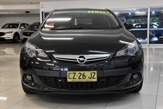 2012 Opel Astra AS GTC Black 6 Speed Sports Automatic Hatchback