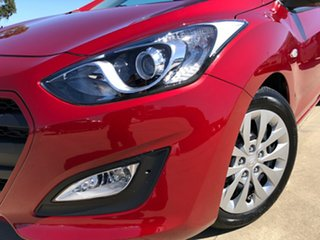 2016 Hyundai i30 GD4 SERIES II M Active Fiery Red 6 Speed Sports Automatic Hatchback