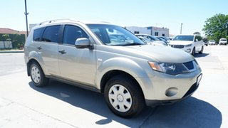 2007 Mitsubishi Outlander ZG MY07 VR Beige 6 Speed Sports Automatic Wagon.