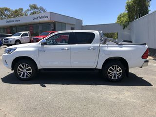 2018 Toyota Hilux GUN126R SR5 Double Cab White 6 Speed Manual Utility