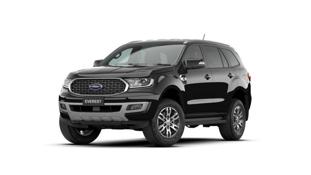 New Ford Everest UA II 2021.25MY Trend Homebush, 2021 Ford Everest UA II 2021.25MY Trend Shadow Black 10 Speed Sports Automatic SUV