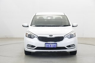 2015 Kia Cerato YD MY15 S Snow White Pearl 6 Speed Sports Automatic Sedan.