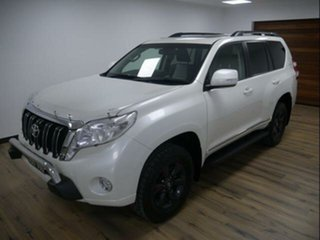 2015 Toyota Landcruiser Prado KDJ150R MY15 Altitude (4x4) Crystal Pearl 5 Speed Sequential Auto