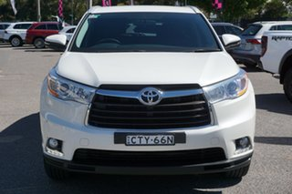 2014 Toyota Kluger GSU50R GXL 2WD White 6 Speed Sports Automatic Wagon.