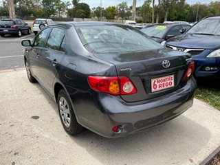 2009 Toyota Corolla ZRE152R Ascent Grey 4 Speed Automatic Sedan