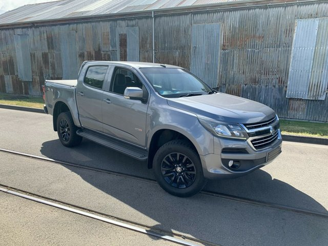 Used Holden Colorado RG MY17 LT Pickup Crew Cab Launceston, 2016 Holden Colorado RG MY17 LT Pickup Crew Cab Grey 6 Speed Sports Automatic Utility