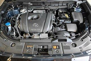 2017 Mazda CX-5 KF4WLA Akera SKYACTIV-Drive i-ACTIV AWD Blue 6 Speed Sports Automatic Wagon