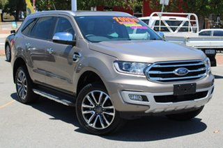 2019 Ford Everest UA II 2020.25MY Titanium Silver 10 Speed Sports Automatic SUV.