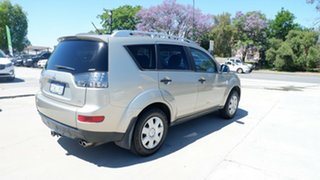 2007 Mitsubishi Outlander ZG MY07 VR Beige 6 Speed Sports Automatic Wagon
