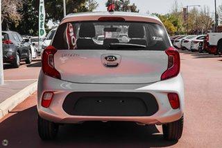 2020 Kia Picanto JA MY21 S Silver 4 Speed Automatic Hatchback.