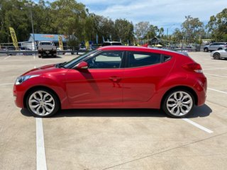 2011 Hyundai Veloster FS Red 6 Speed Auto Active Select Hatchback